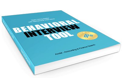 Behavioral Interview Tool (Accounting & Finance) » Acctal